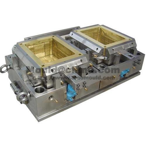 2-cavities crate mould core with moldmax_434