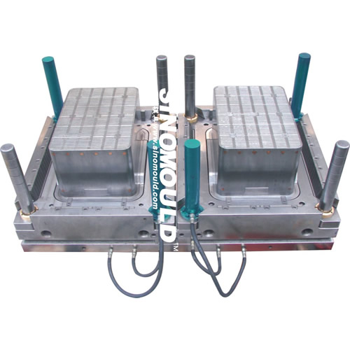 538x358x240mm double Crate Mould_248