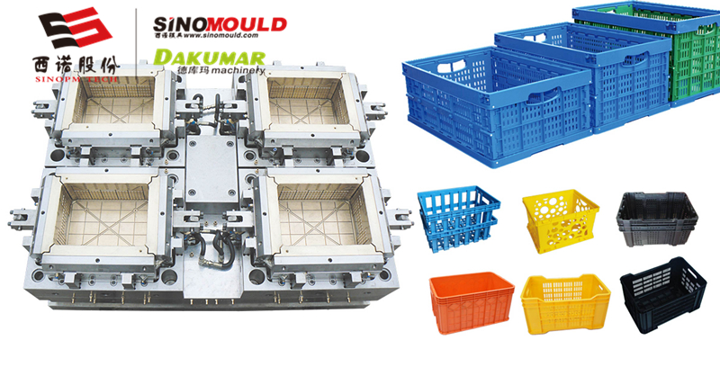 Plastic Crate Mould Supplier