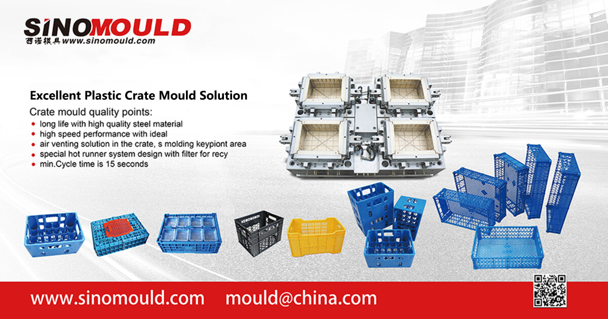 Plastic Crate Mould Solution