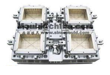 4-cavity crate mould