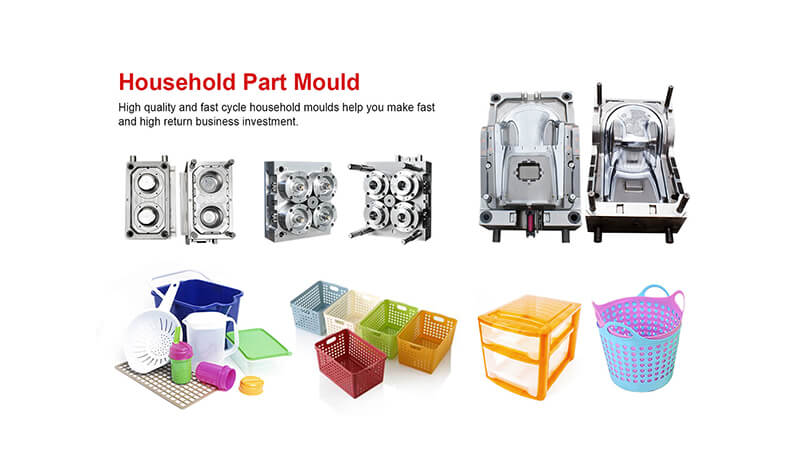 Plastic Injection Mould - Household Part