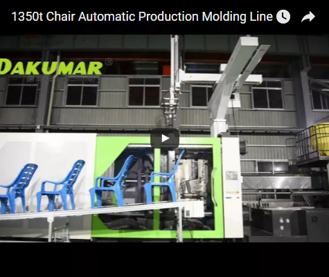 1350t Chair Automatic Production Molding Line