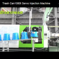 Trash Can1080t Servo Injection Machine