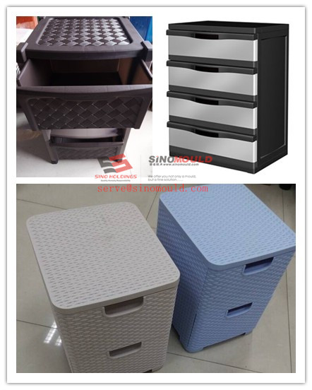 Plastic Drawer Injection Mould