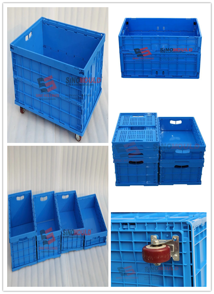 China Foldable crate mould
