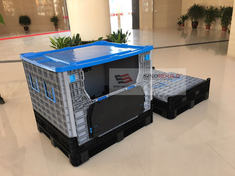 Industry Foldable Crate Mould