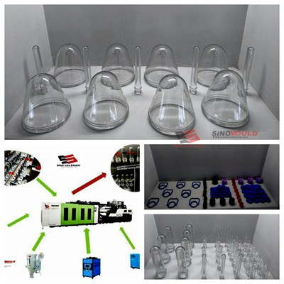 PET water bottle molds manufacturing