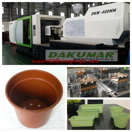 China plastic parts injection molding line supplier