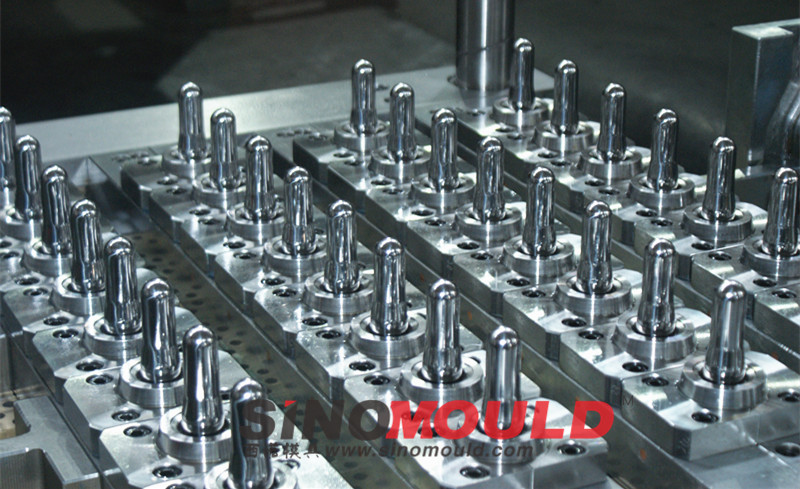 PET Preform Mould-Valve Gate System