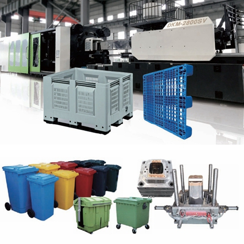 industrial part molding machine offering